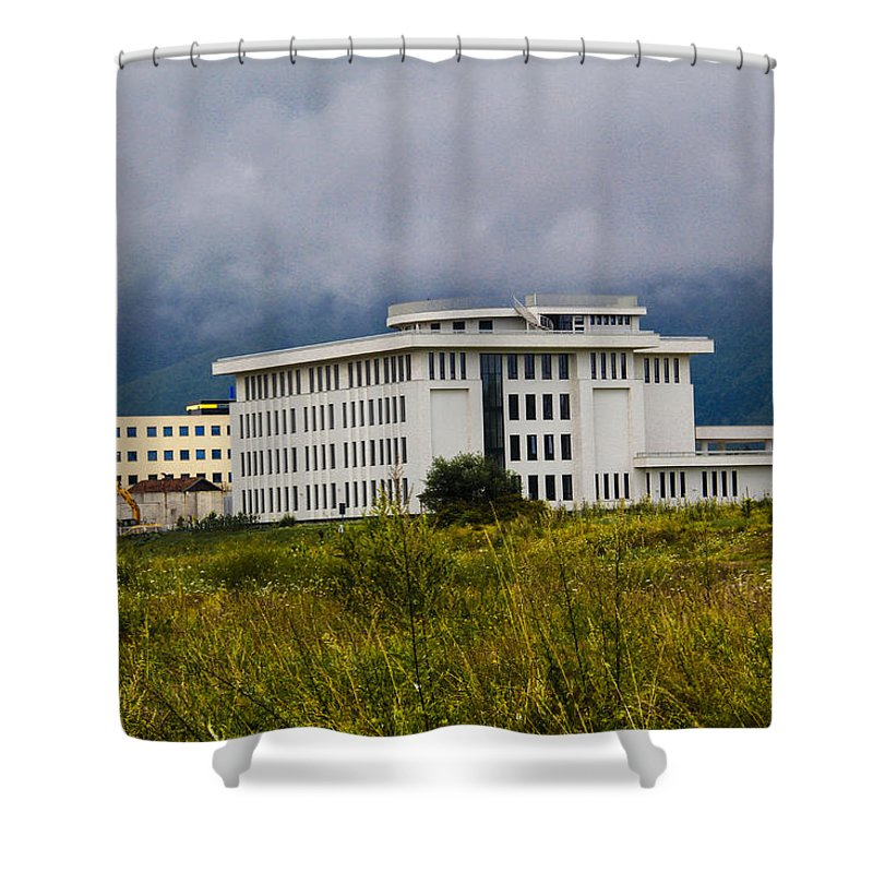 Sell Shower Curtain featuring the photograph Fine Art by Khaled Alkhaldi