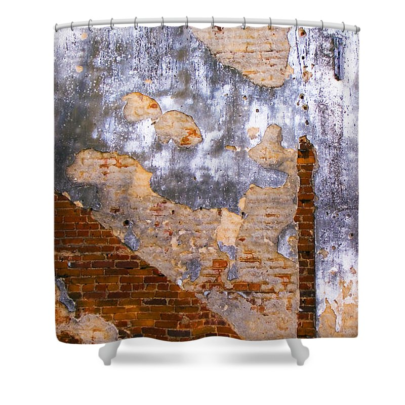 Architecture Shower Curtain featuring the photograph Finger Food by Skip Hunt