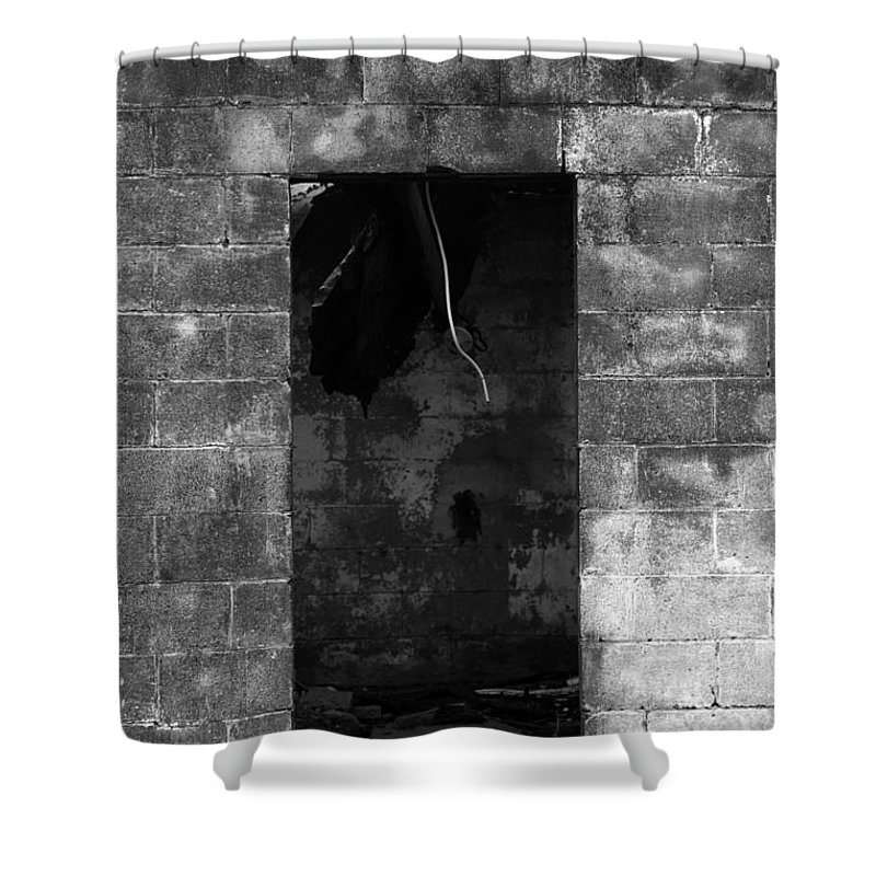 Fire Shower Curtain featuring the photograph Fire by Amanda Barcon