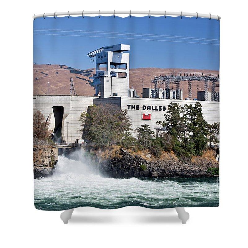 Salmon Ladder Shower Curtains | Fine Art America