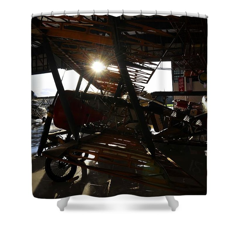 Hanger Shower Curtain featuring the photograph Flights Of Fancy by David Lee Thompson
