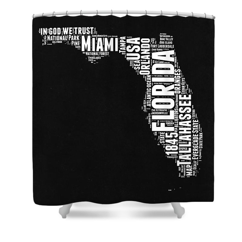 Tallahassee Shower Curtains | Pixels