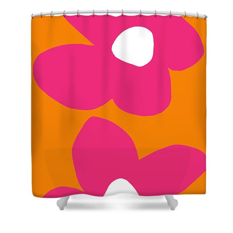 Large Flower Shower Curtains