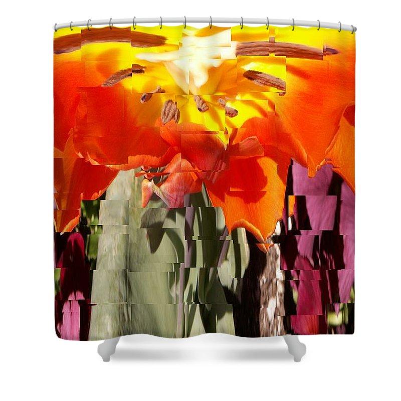 Flower Shower Curtain featuring the photograph Flower by Tim Allen