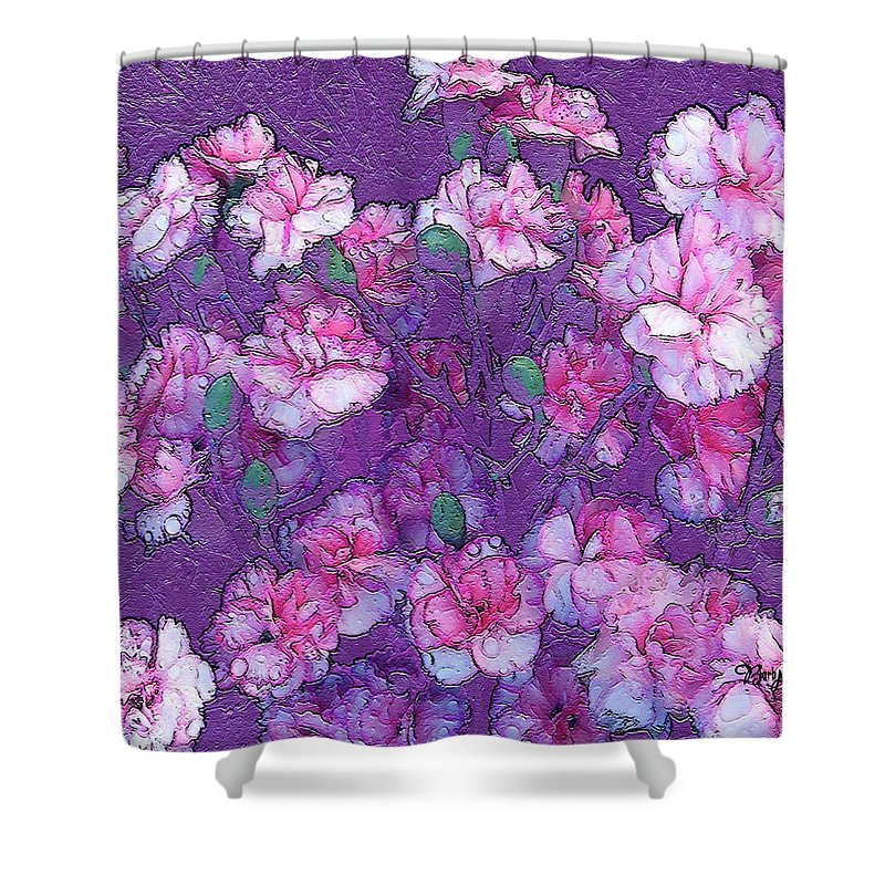 Flowers Shower Curtain featuring the photograph Flowers #063 by Barbara Tristan