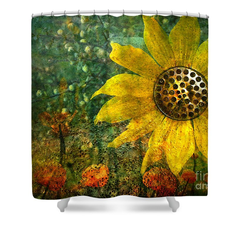 Flowers Shower Curtain featuring the photograph Flowers For Fun by Tara Turner