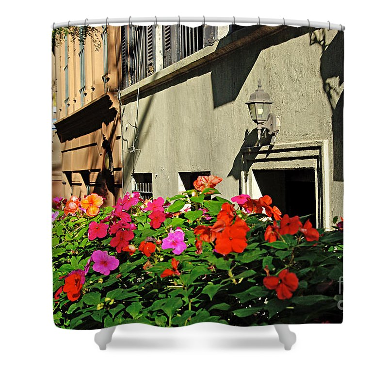 Flowers Shower Curtain featuring the photograph Upper West Side, New York by Zal Latzkovich