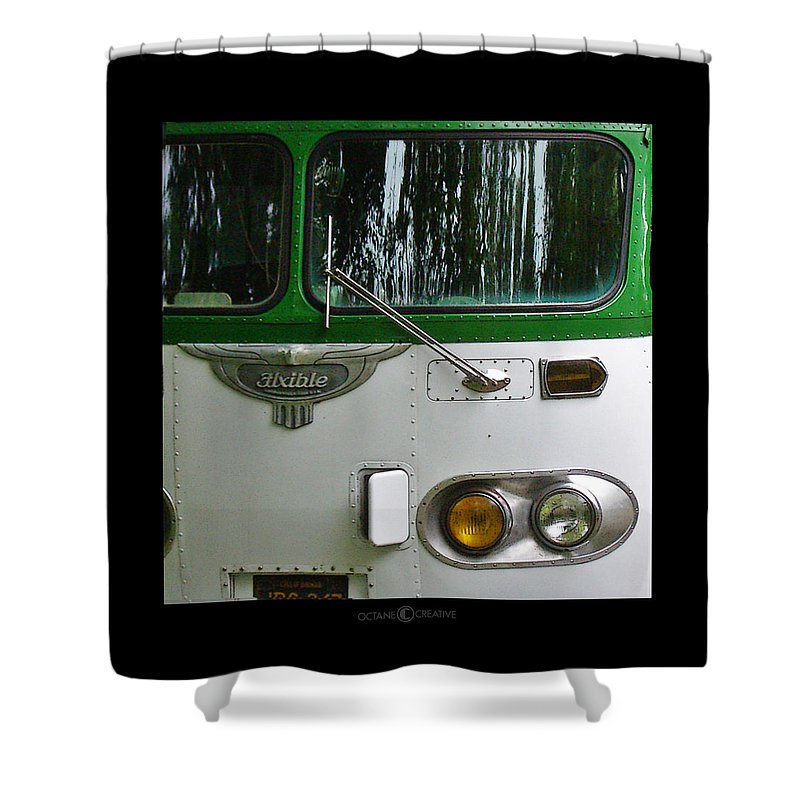 Flxible Shower Curtain featuring the photograph Flxible by Tim Nyberg
