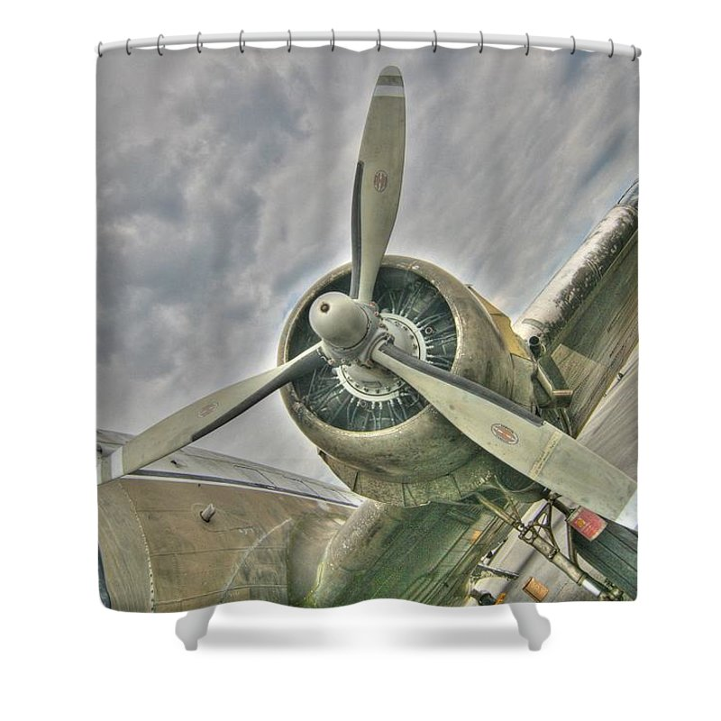 Tiger Lady Shower Curtain featuring the photograph Fly Me Away by Patricia Montgomery