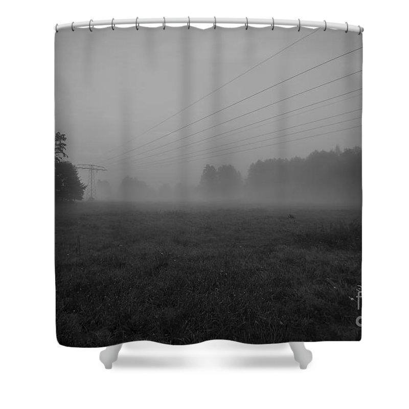 Foggy Shower Curtain featuring the photograph Fog by Tino Lehmann