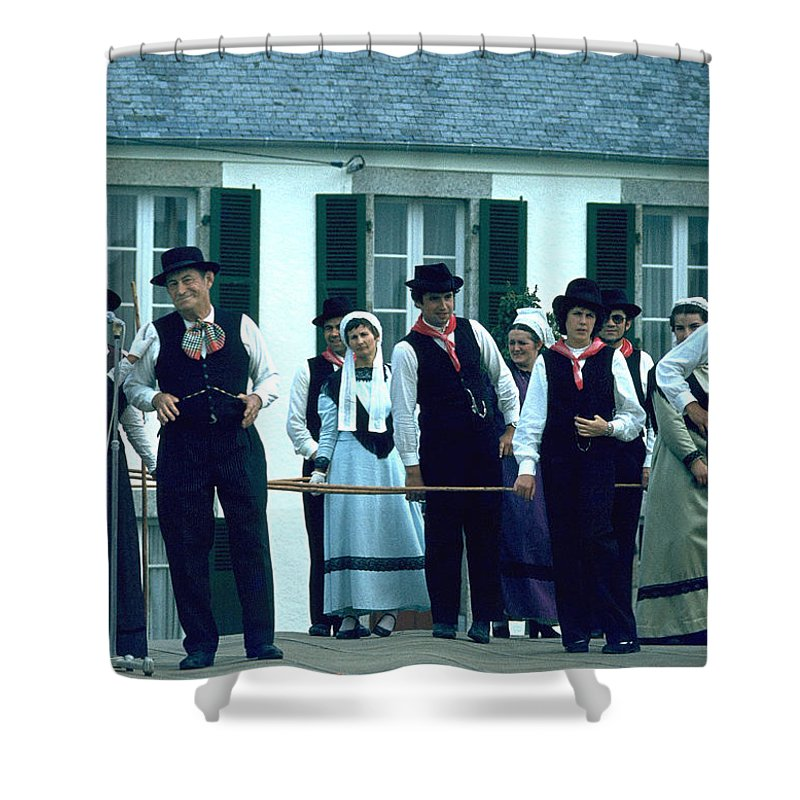 Tradition Shower Curtain featuring the photograph Folk Music by Flavia Westerwelle
