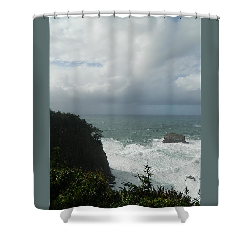 Oregon Shower Curtain featuring the photograph Force Of Nature by Gallery Of Hope