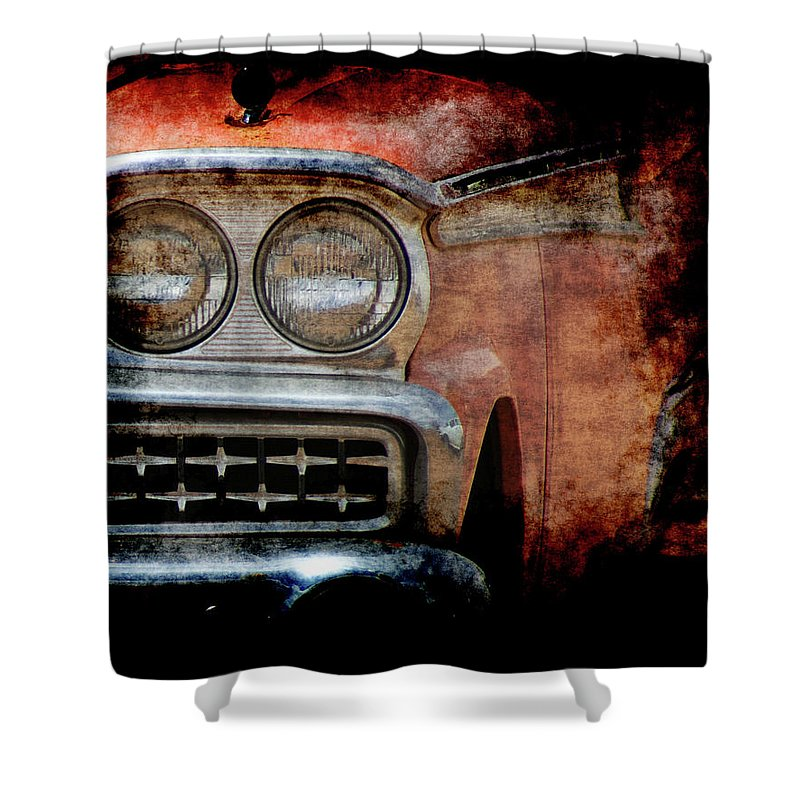Fords Shower Curtain featuring the photograph Ford by Ernie Echols