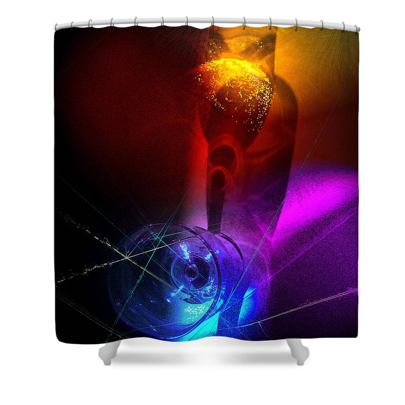 Fantasy Shower Curtain featuring the photograph Foreplay by Miki De Goodaboom