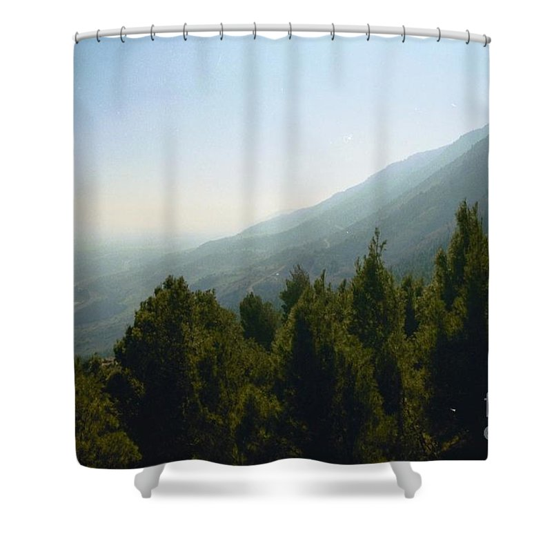 Nature Shower Curtain featuring the photograph Forest In Israel by Gail Kent