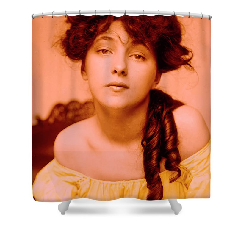 Girl Shower Curtain featuring the photograph Forgotten Beauty by Steve K