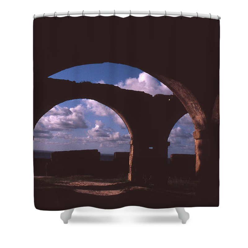 Bahia Shower Curtain featuring the photograph Fortaleza De Morro De Sao Paulo by Patrick Klauss