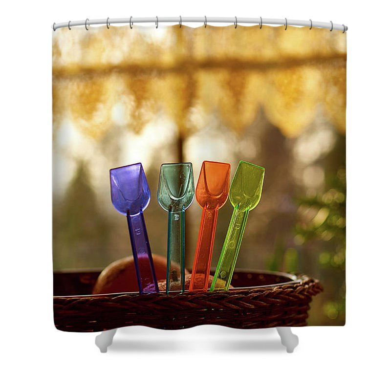 Four Brothers Shower Curtain featuring the photograph Four Brothers by Tgchan