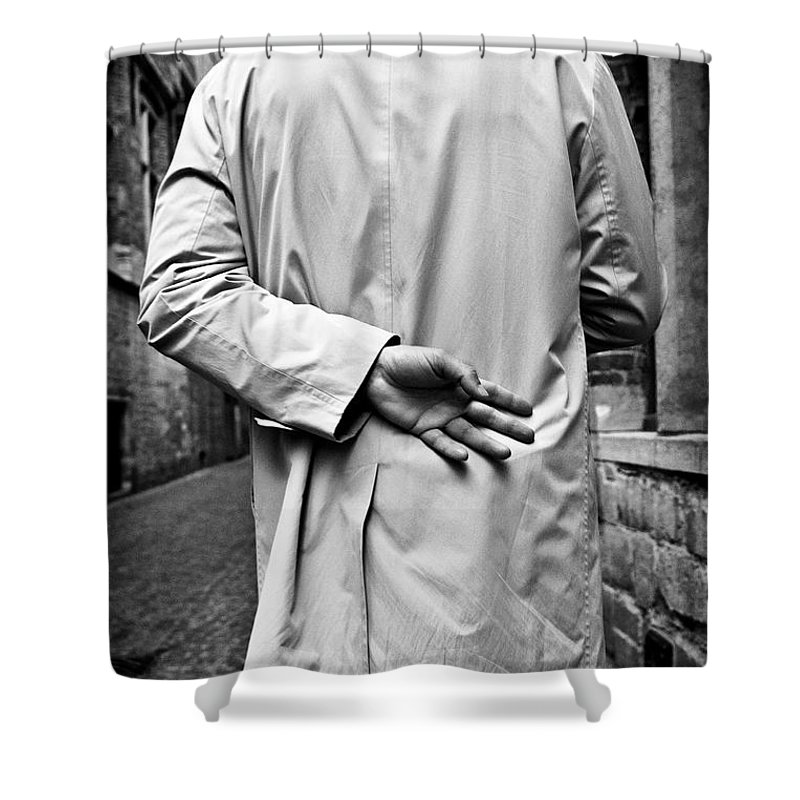 Man Shower Curtain featuring the photograph Four by Dave Bowman