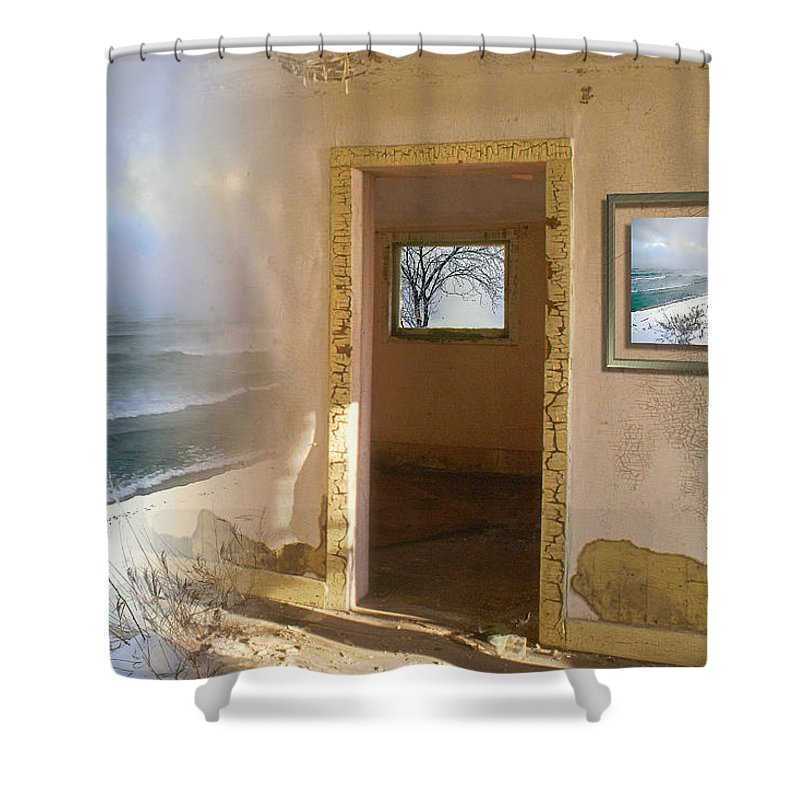 Canada Shower Curtain featuring the photograph Framed  by Doug Gibbons