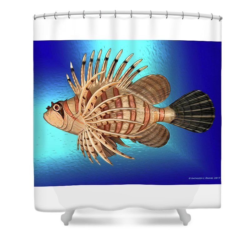 Frappersdelight Shower Curtain featuring the photograph Frappers Delight by Kathleen J Daniel