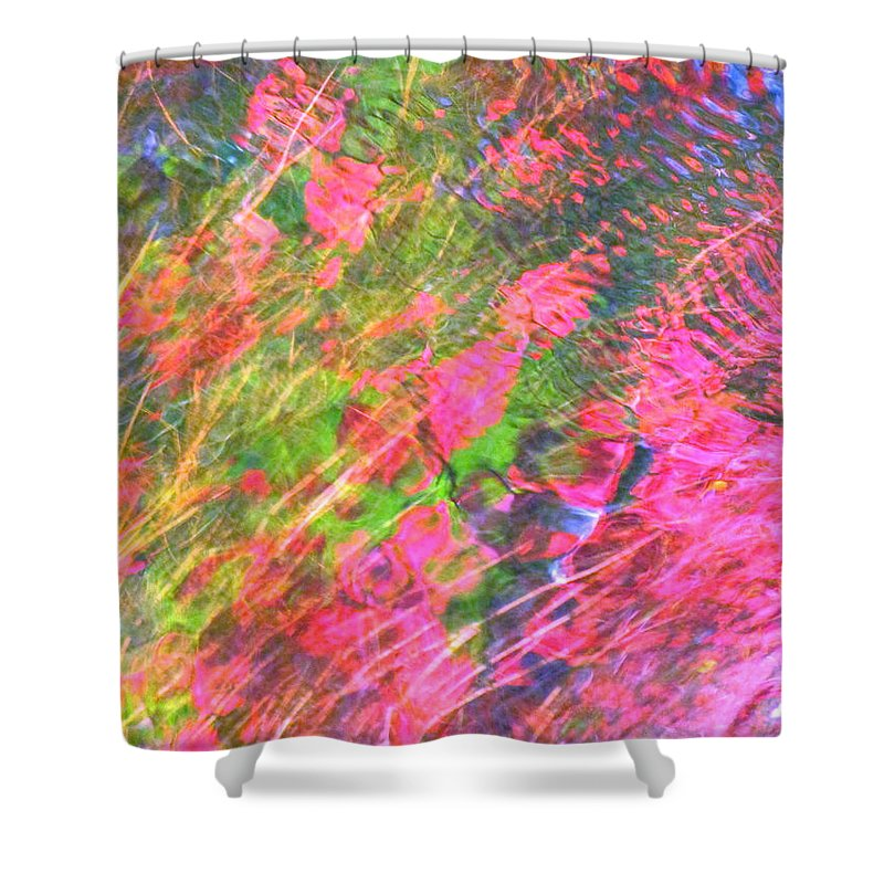 Abstract Shower Curtain featuring the photograph Free And Wild As The Wind by Sybil Staples