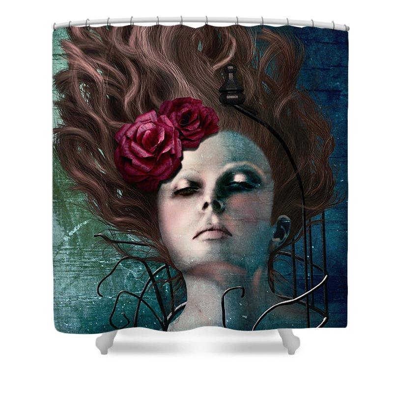 Feminine Power Shower Curtains