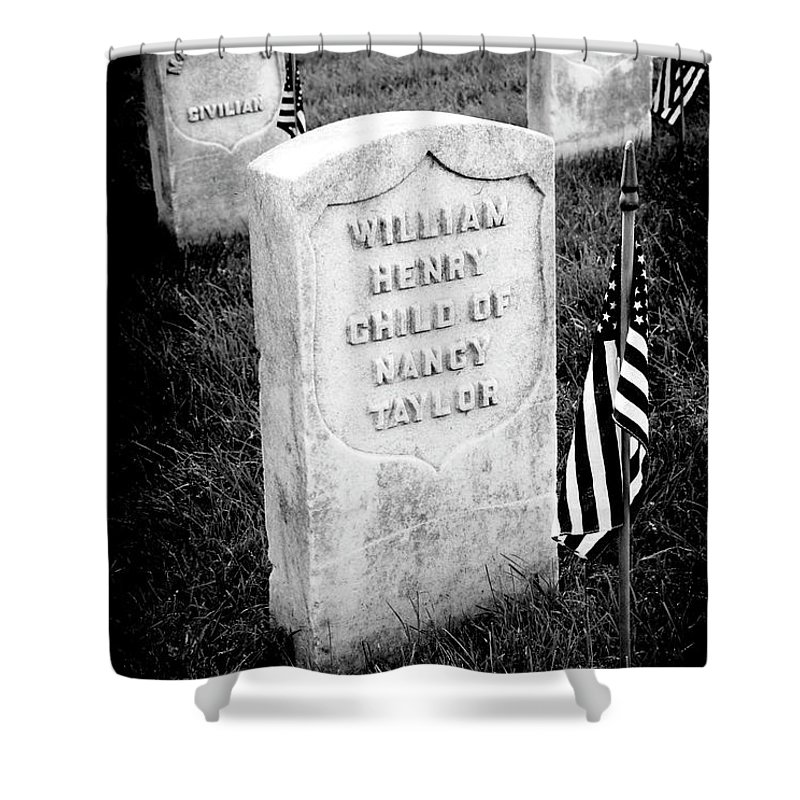 Arlington National Cemetery Shower Curtain featuring the photograph Free Blacks by Paul W Faust - Impressions of Light