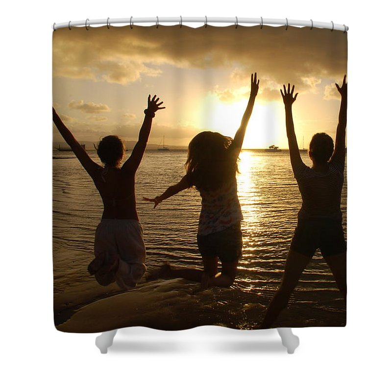 Freedom Shower Curtain featuring the photograph Freedom by Harry Coburn