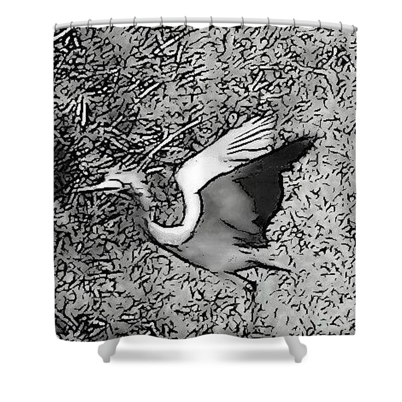 Freedom Shower Curtain featuring the photograph Freedom by Sarina Damen