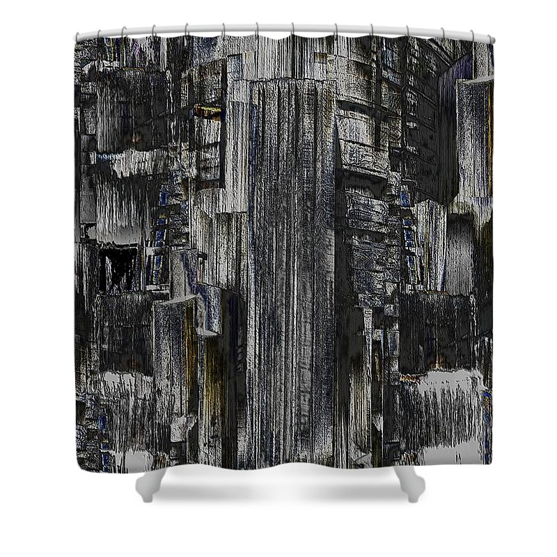 Seattle Shower Curtain featuring the photograph Freeway Park 2 by Tim Allen