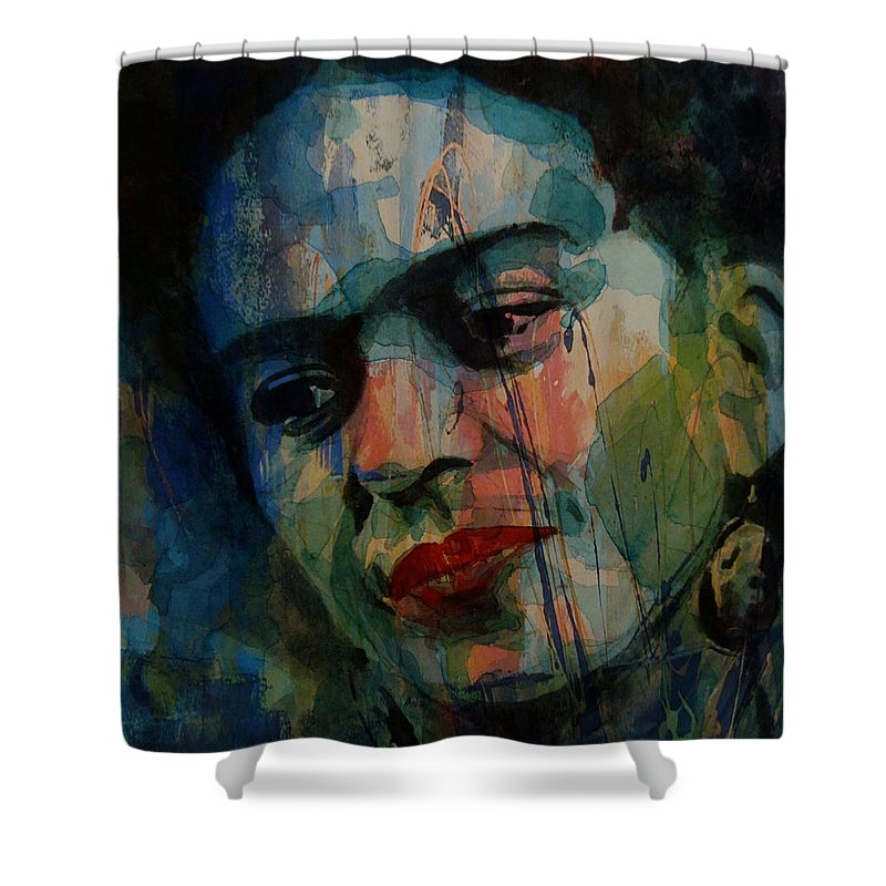 Frida Kahlo Colourful Icon Shower Curtain For Sale By Paul Lovering