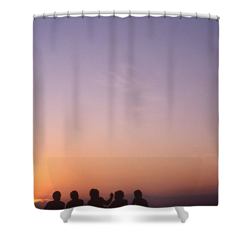 Bahia Shower Curtain featuring the photograph Friends by Patrick Klauss