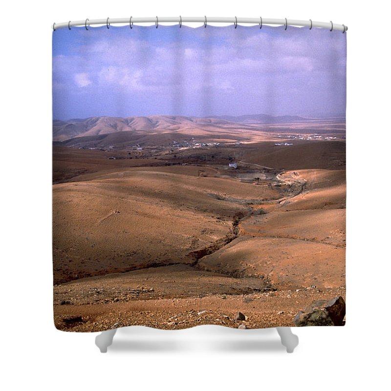 Fuerteventura Shower Curtain featuring the photograph Fuerteventura I by Flavia Westerwelle