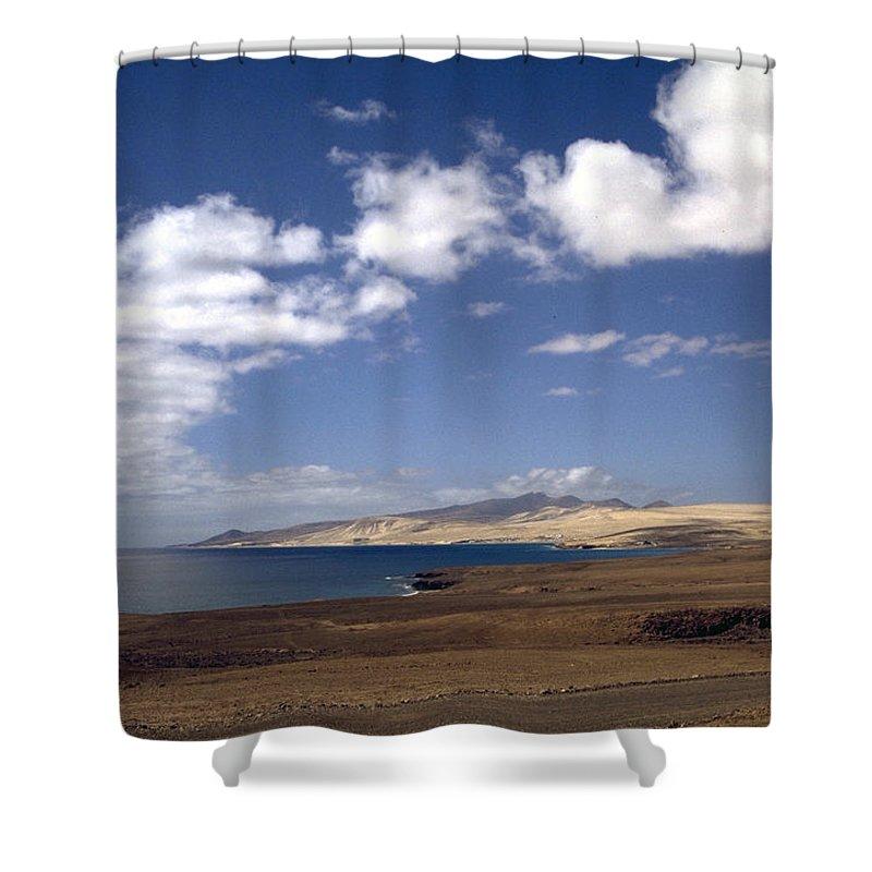 Fuerteventura Shower Curtain featuring the photograph Fuerteventura II by Flavia Westerwelle