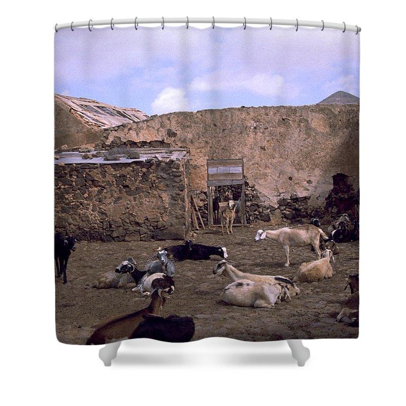 Fuerteventura Shower Curtain featuring the photograph Fuerteventura IIi by Flavia Westerwelle