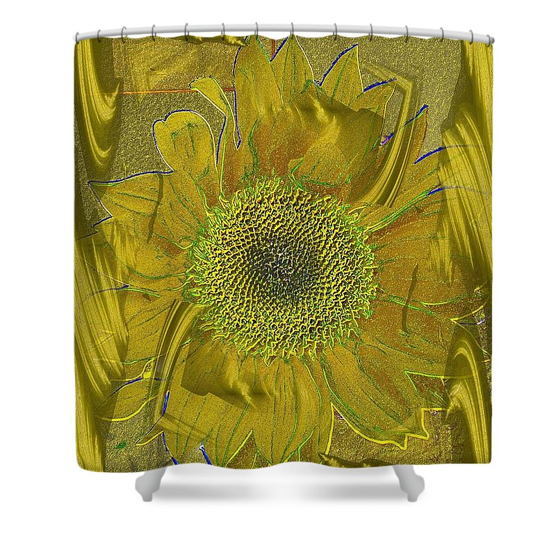 Flower Shower Curtain featuring the photograph Fulfillment by Tim Allen