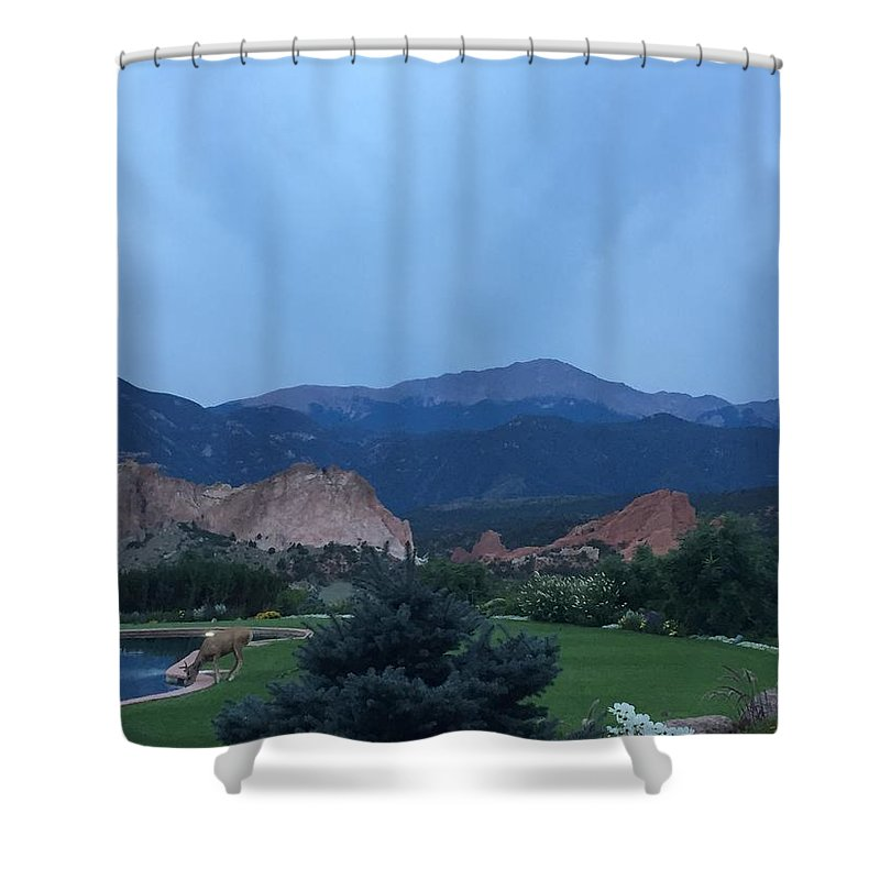 Shower Curtain featuring the photograph Garden Of The Gods by Shelby Chasd
