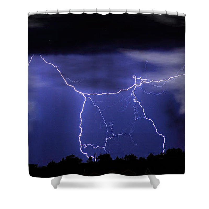 Religious Shower Curtain featuring the photograph Gates To Heaven by James BO Insogna
