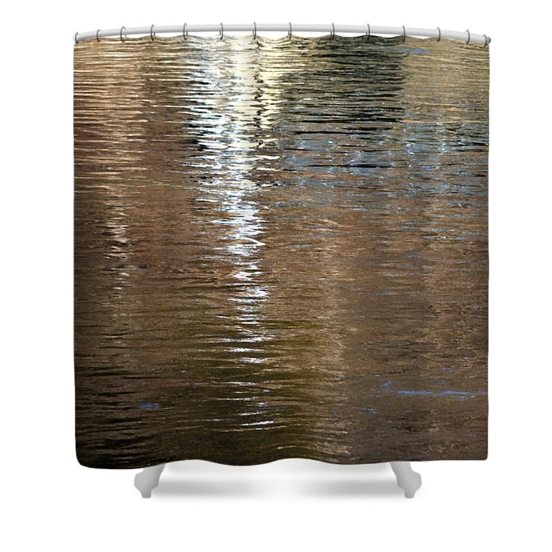 Water Shower Curtain featuring the photograph Gemini - Vertical B by Richard Andrews