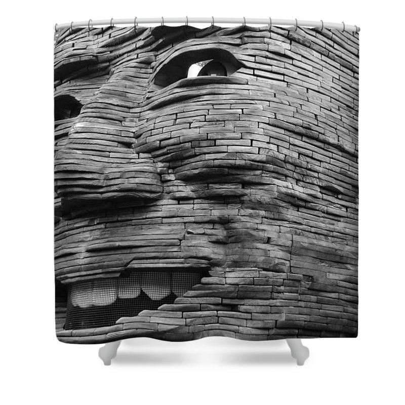 Architecture Shower Curtain featuring the photograph Gentle Giant by Rob Hans