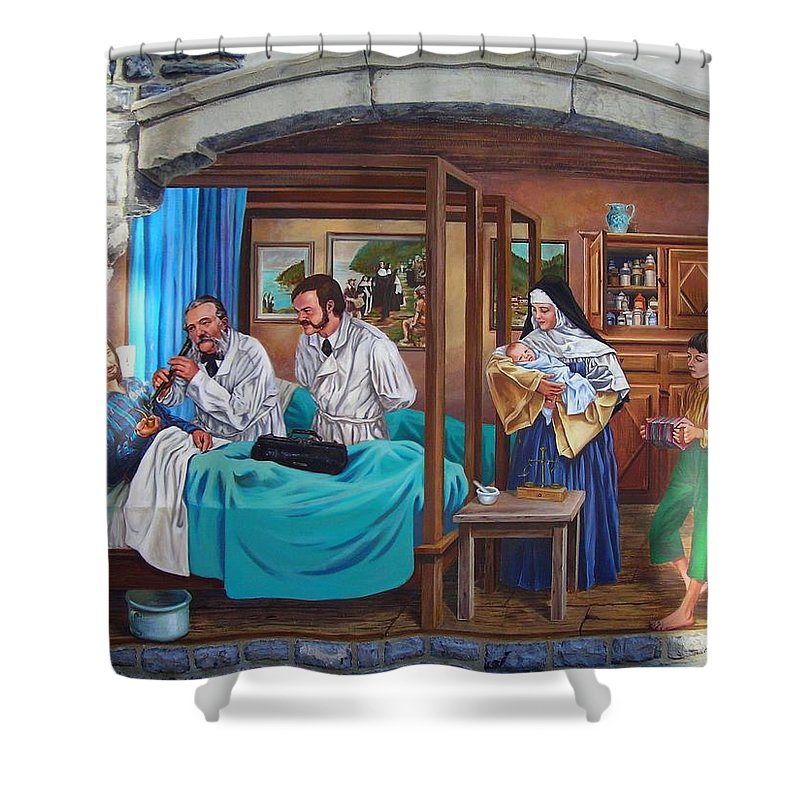 Paint Shower Curtain featuring the photograph Get Well Soon ... by Juergen Weiss