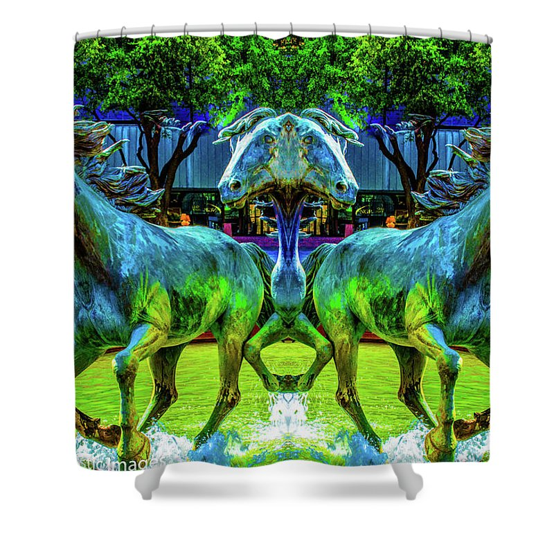 Fine Art Photography Shower Curtain featuring the photograph Gift From The Gods by Nicholas Costanzo