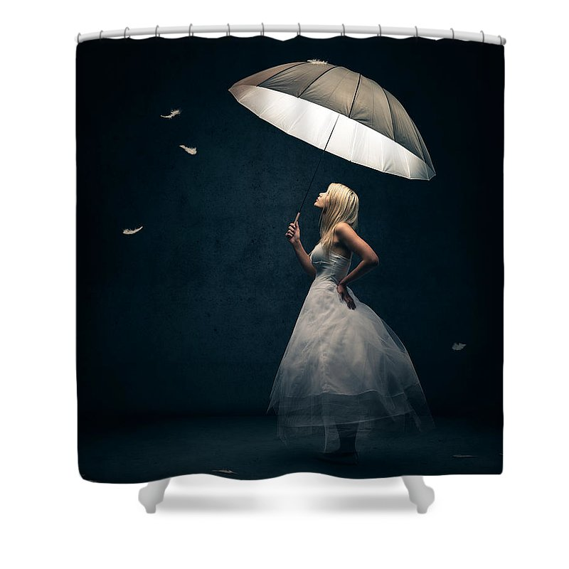 Moody Shower Curtains