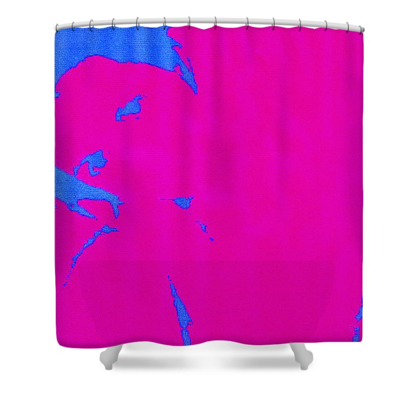 French Girl Shower Curtain featuring the photograph Gisele A French Girl by Dawn Johansen
