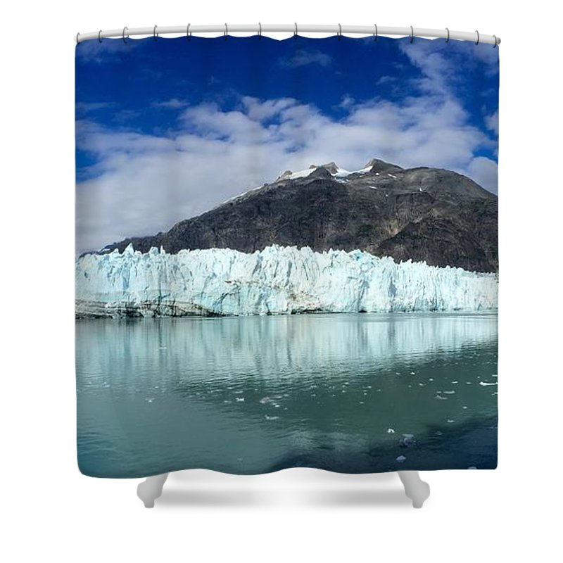 Photography Shower Curtain featuring the photograph Glacier Bay by Sean Griffin