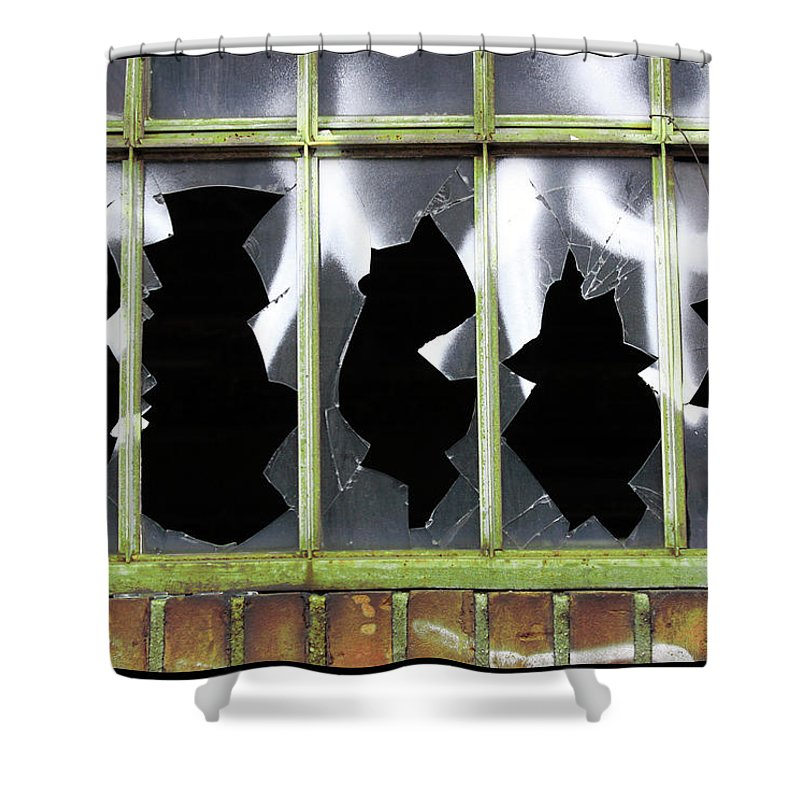 Glass Shower Curtain featuring the photograph Glass by Mark Ashkenazi