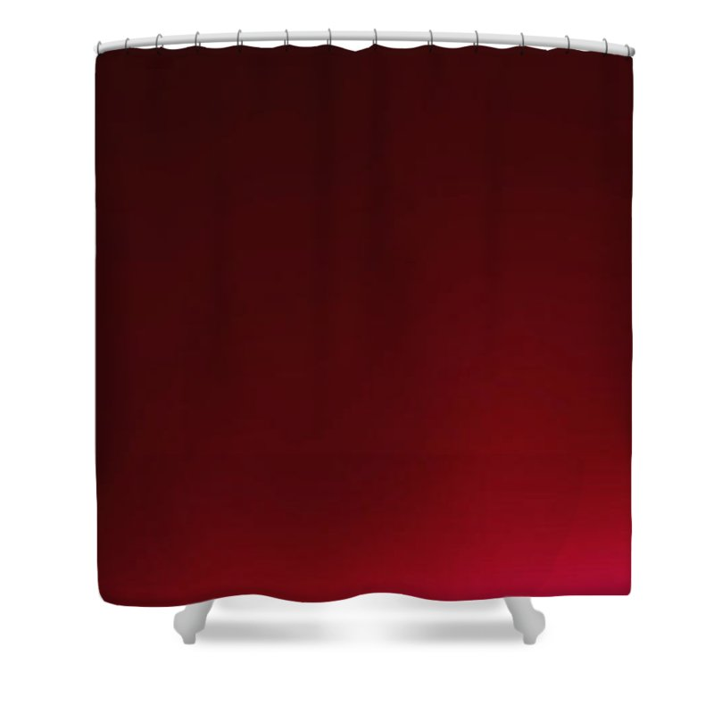 Wine Shower Curtain featuring the digital art Glass Of Wine by Abhijeet Dhidhatre