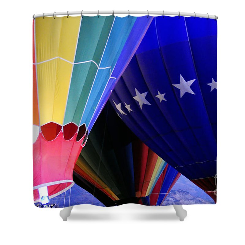 Clay Shower Curtain featuring the photograph Glowing by Clayton Bruster