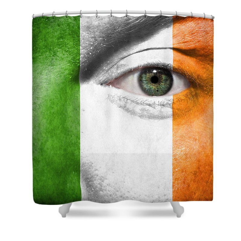 2012 Shower Curtain featuring the photograph Go Ireland by Semmick Photo